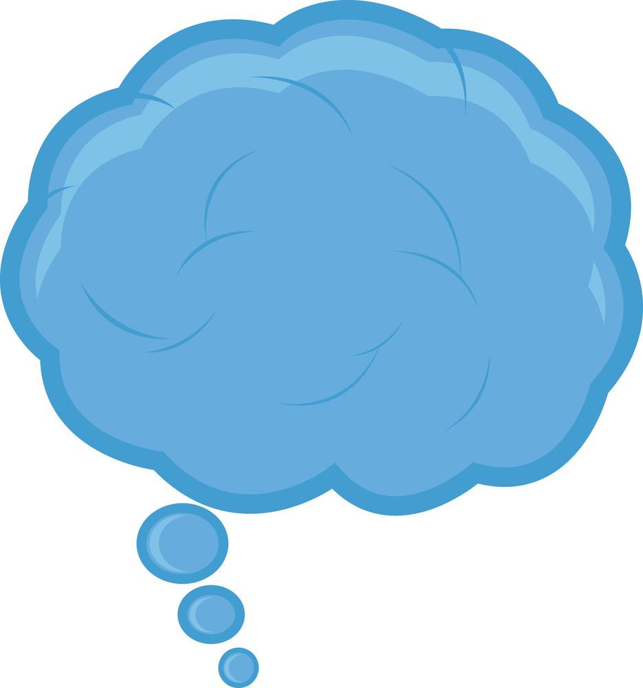 Cloud Speech Bubble Vector