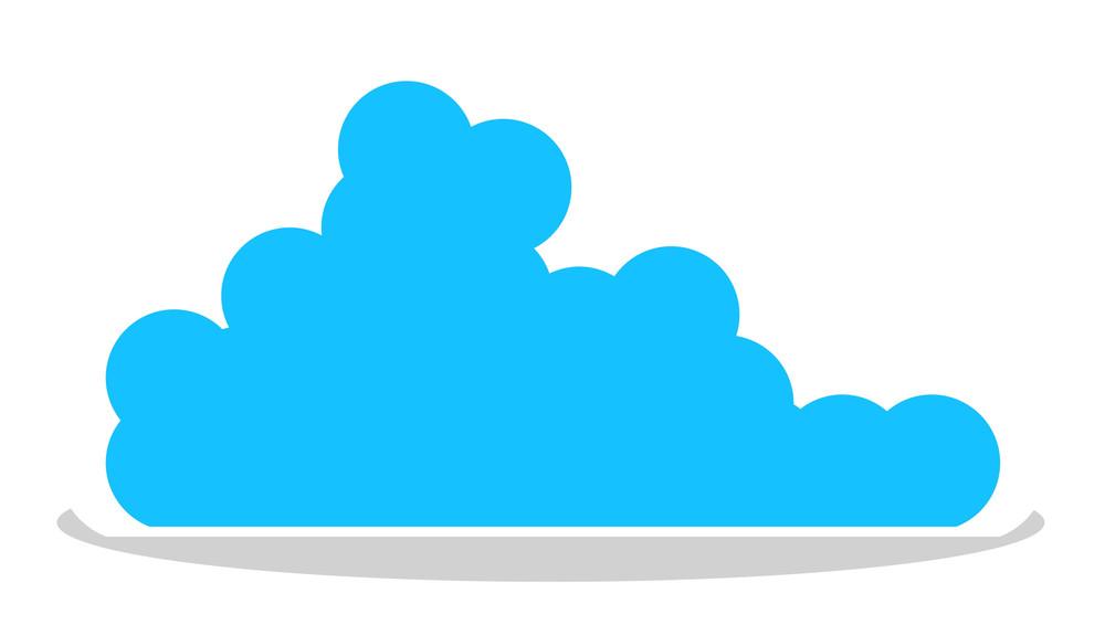 Cloud Sticker Banner