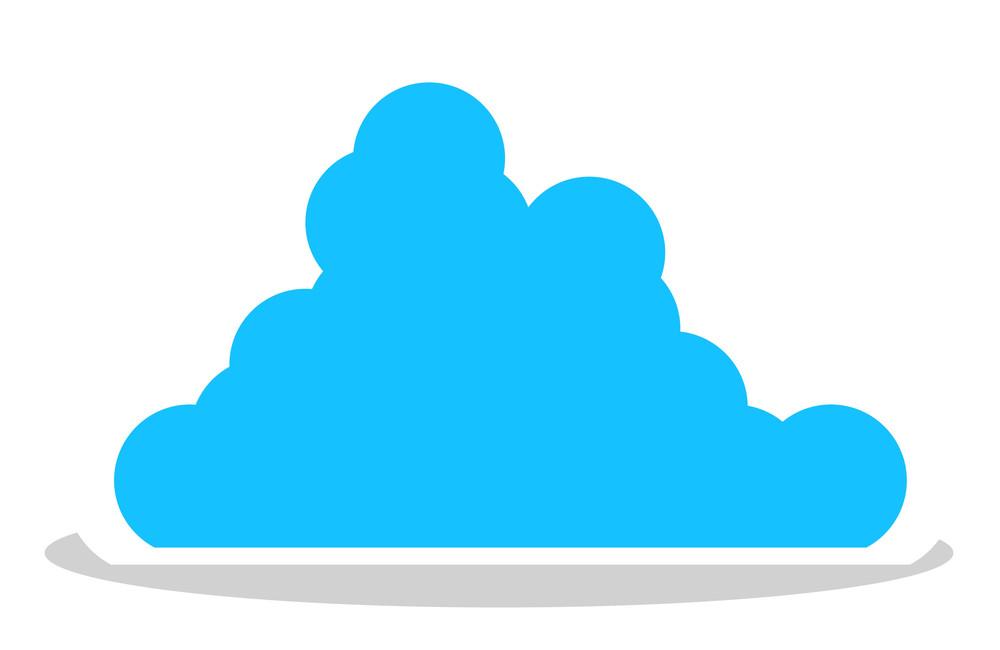 Cloud Sticker Frame