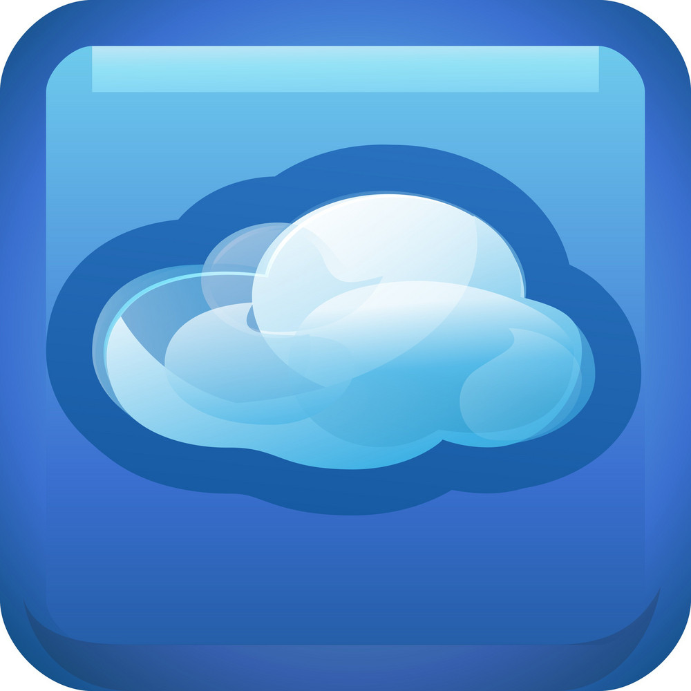 Cloud Weather Tiny App Icon