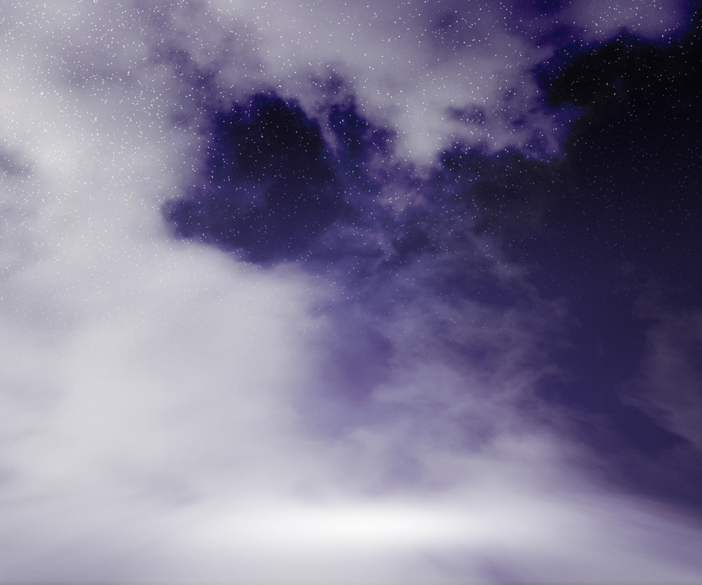 Clouds Stage Night Sky Background
