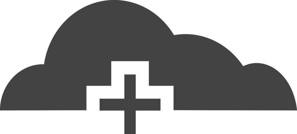 Clould 1 Glyph Icon