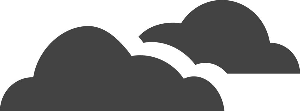 Clould 4 Glyph Icon