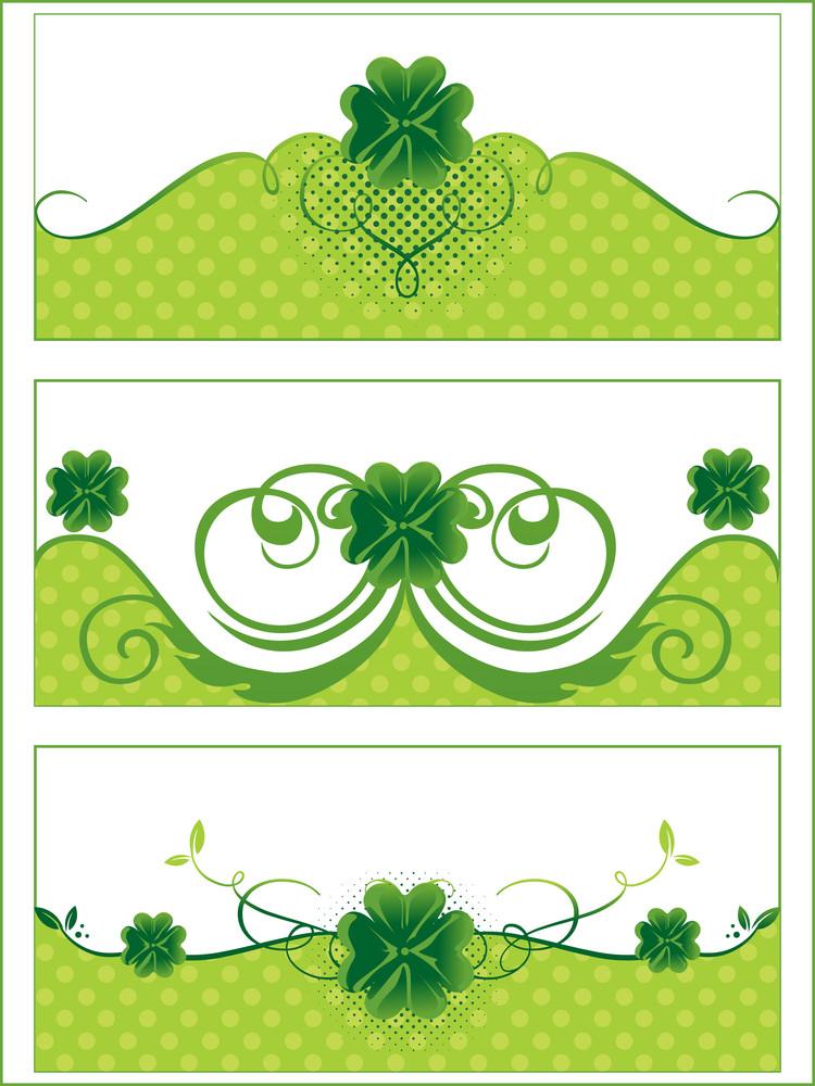 Clover Design For Celebration