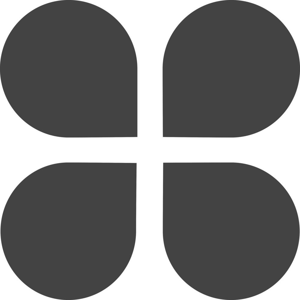 Clover Glyph Icon