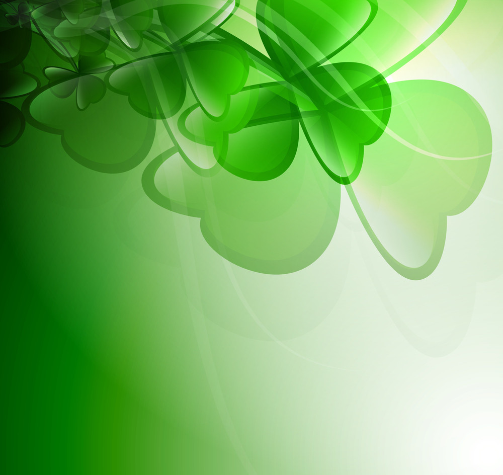 Clover Leaves Background