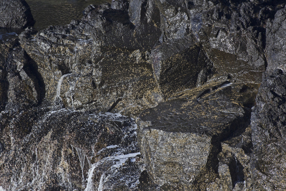 Coast Black Rocks