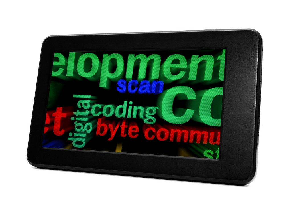 Coding And Byte On Pc Tablet