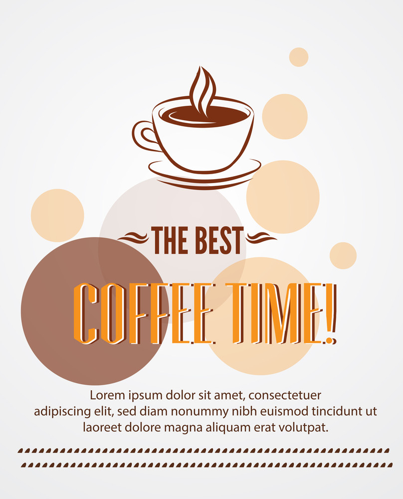Coffee Poster Design (editable Text)