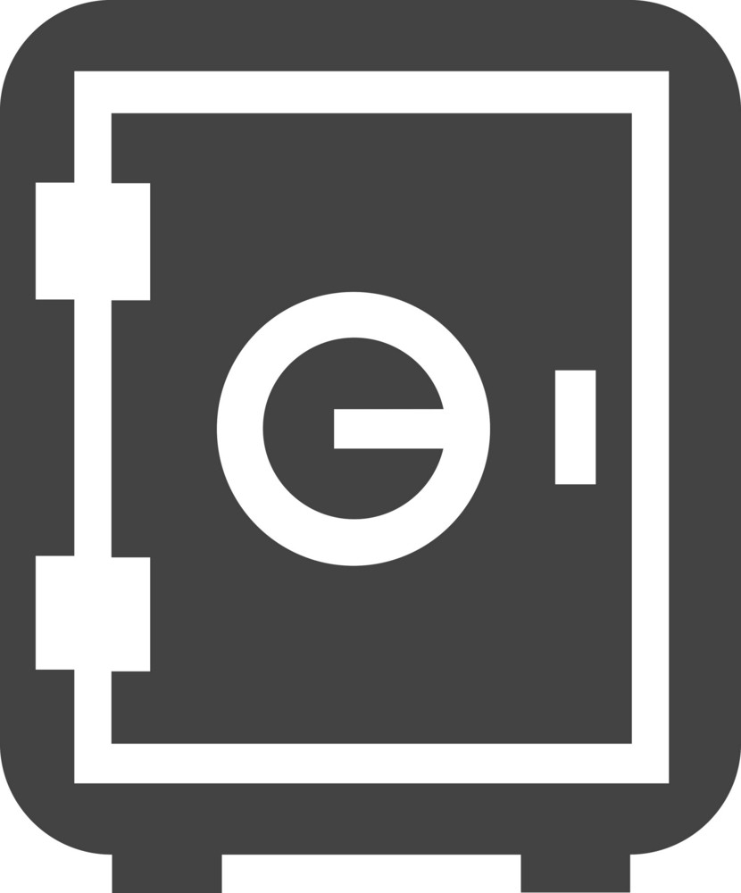 Coffer Glyph Icon