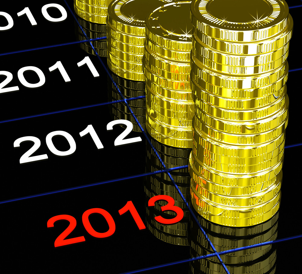 Coins On 2013 Showing Current Monetary Status