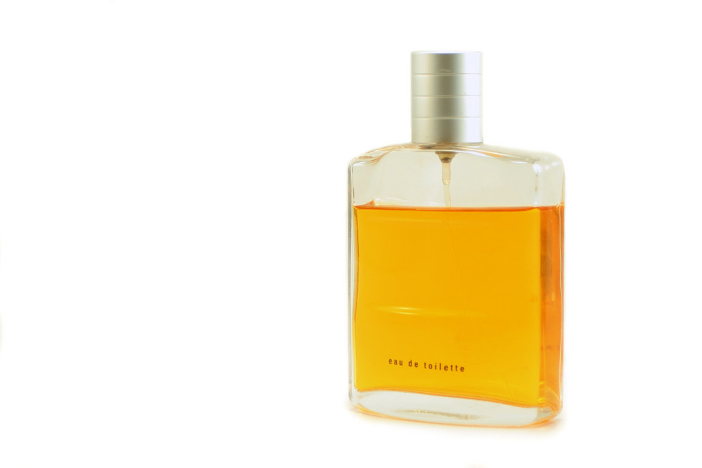 Cologne Bottle Isolated
