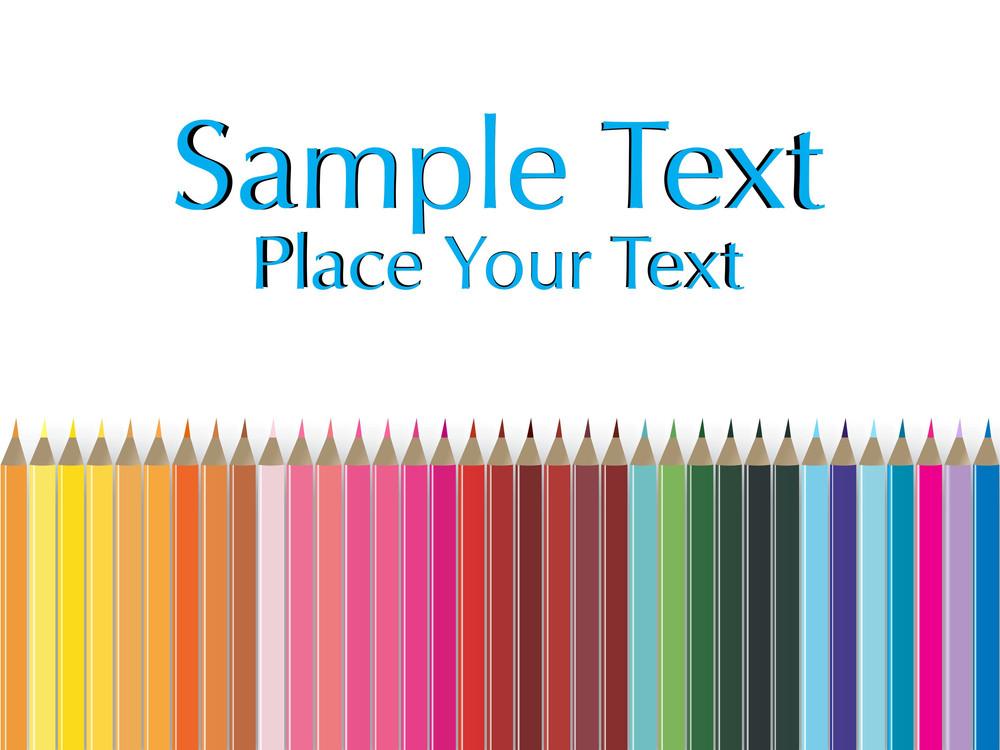 Color Pencil Pallete