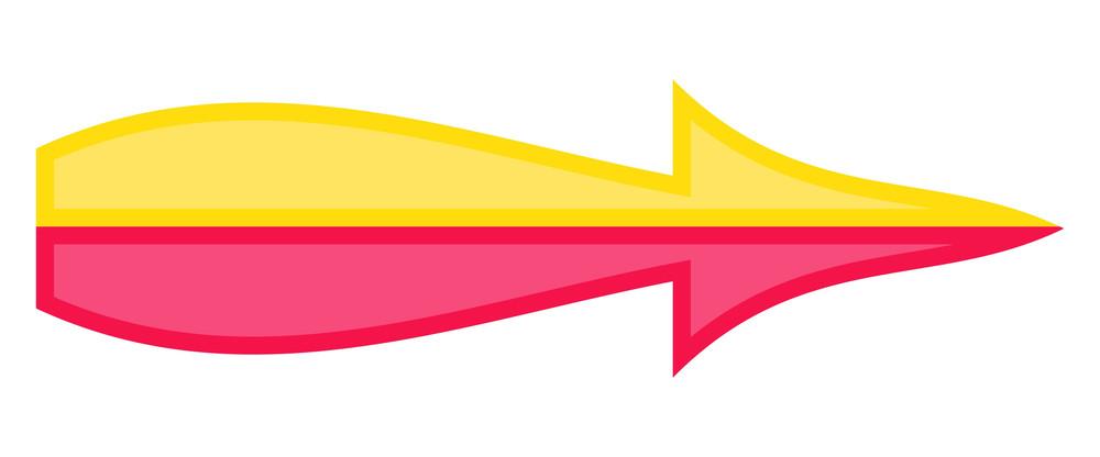 Colored Arrow