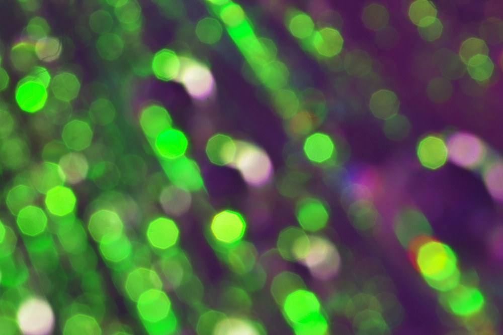 Colorful Abstract Blur Bubbles