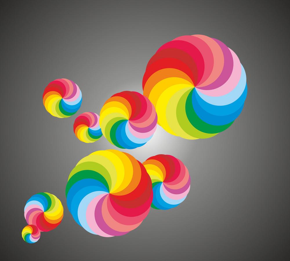 Colorful Abstract Circles