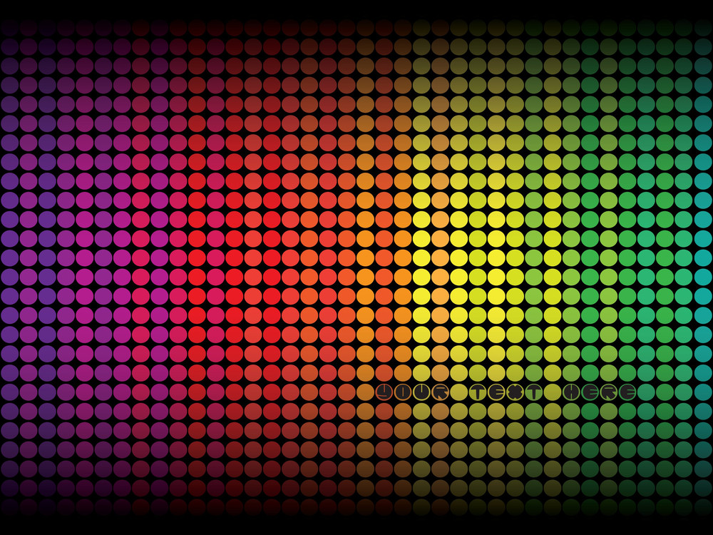 Colorful Abstract Dots Background