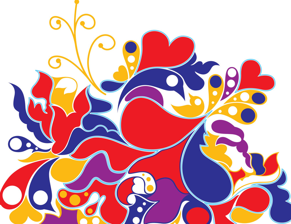 Colorful Abstract Graphic Background