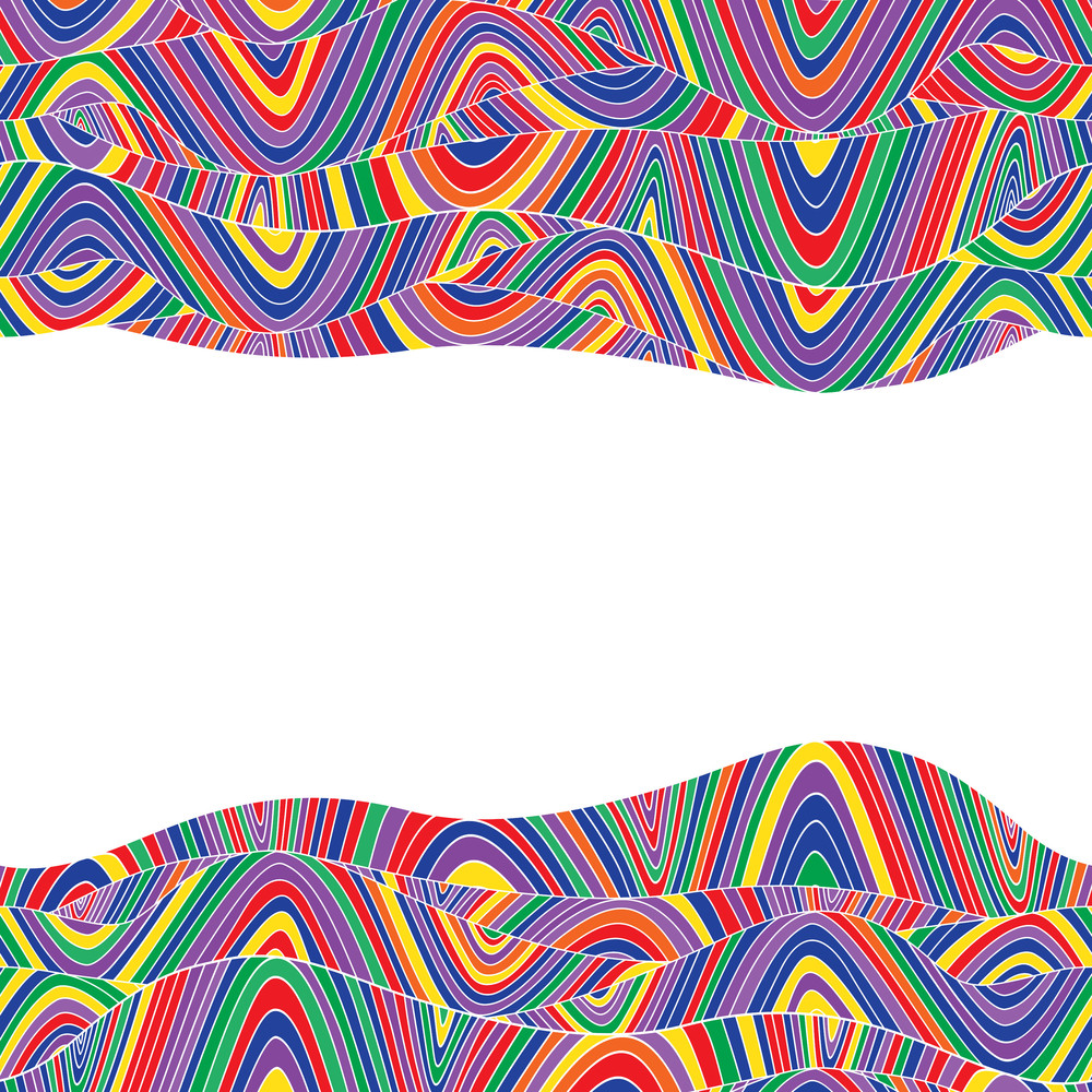 Colorful Abstract Hand-drawn Pattern