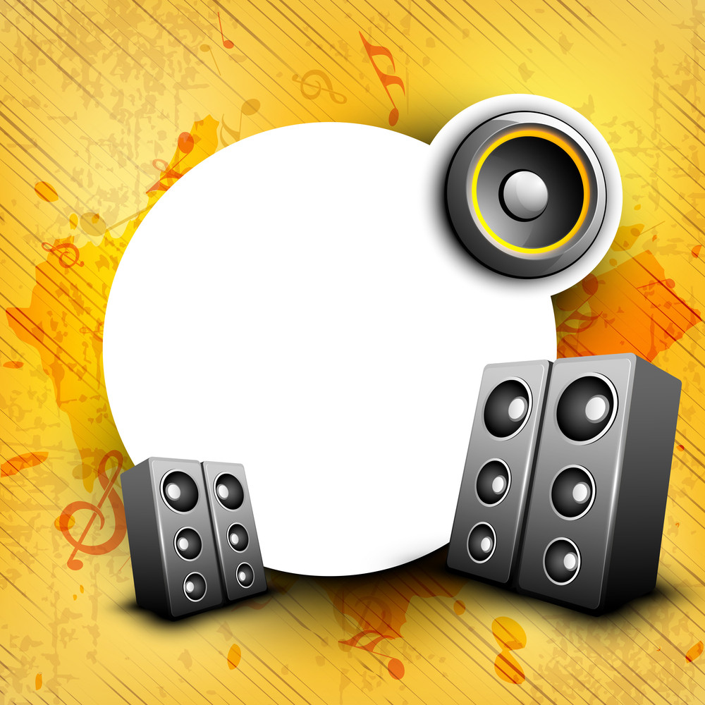 Colorful Abstract Speakers Background 10