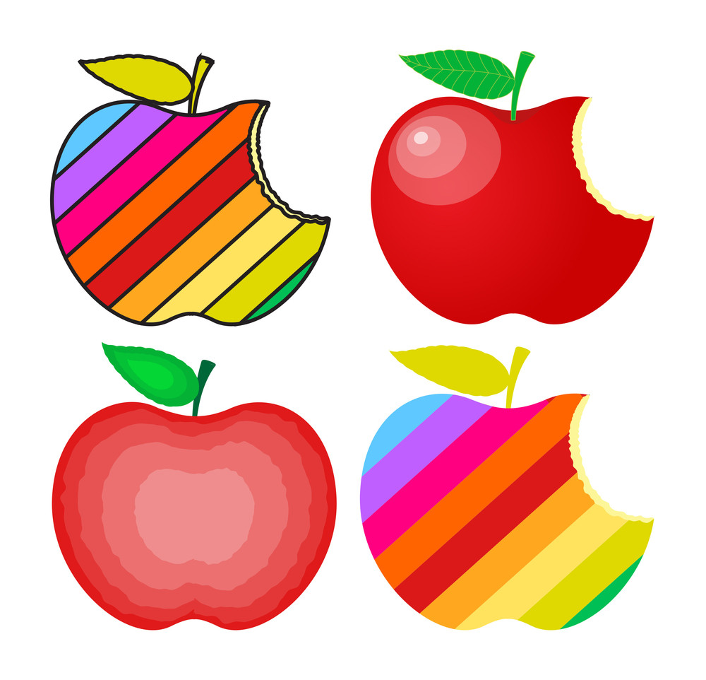 Colorful Apples Designs