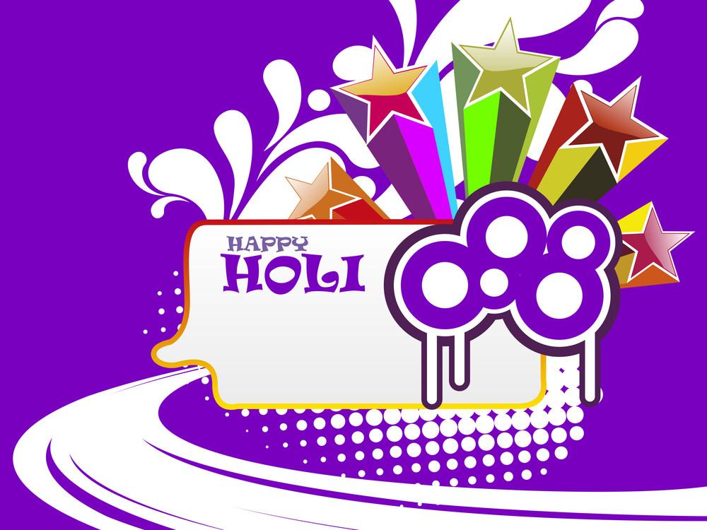 Colorful Artwork Background For Celebration