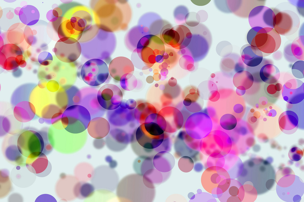 Colorful Bokeh Circles