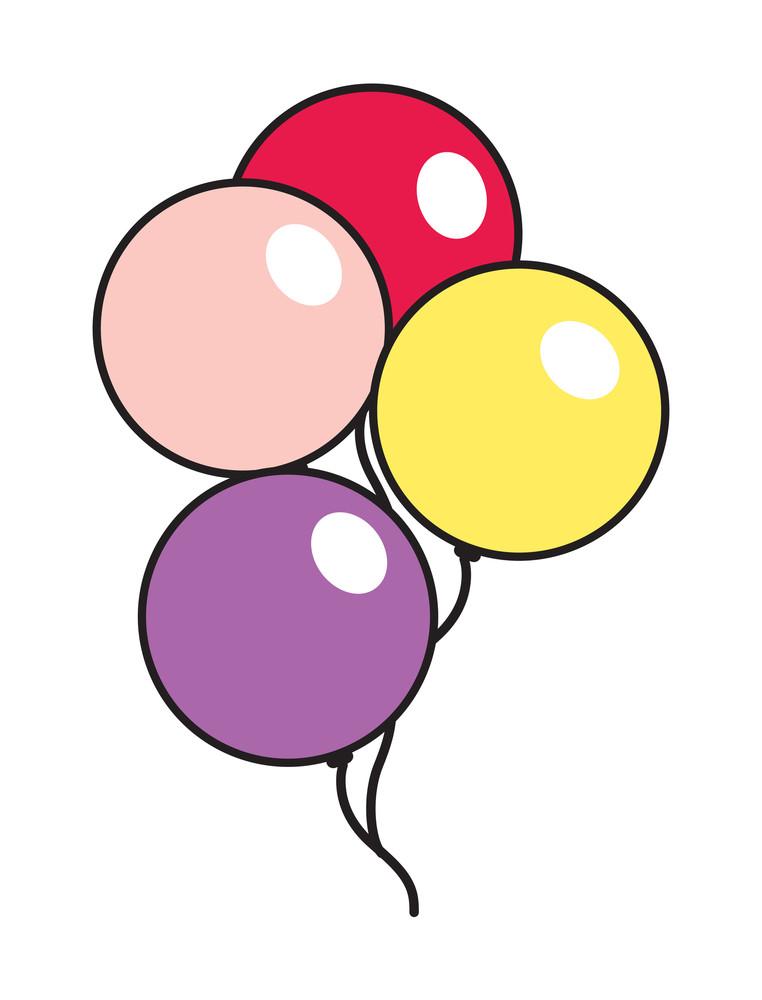 Colorful Celebration Balloons