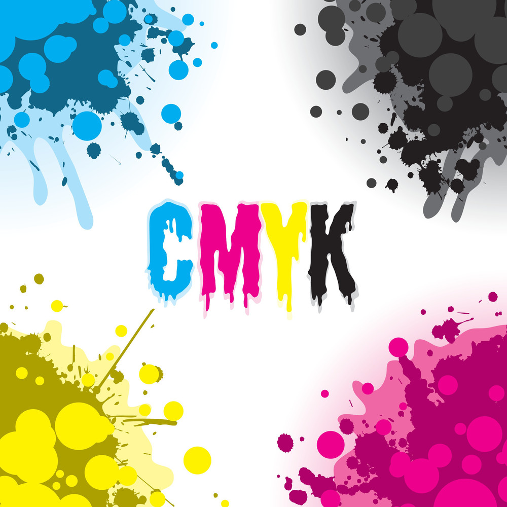Colorful Cmyk Design Elements
