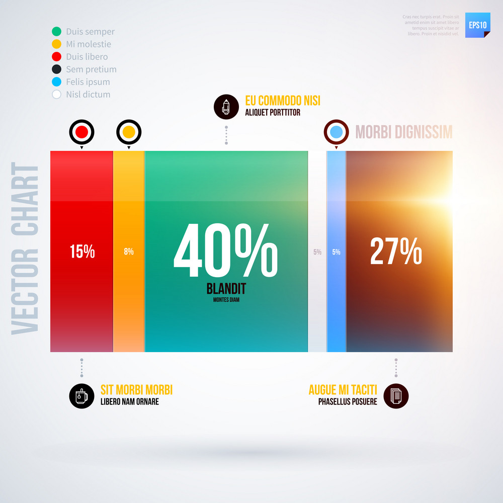 Infographics Chart Template. Eps10