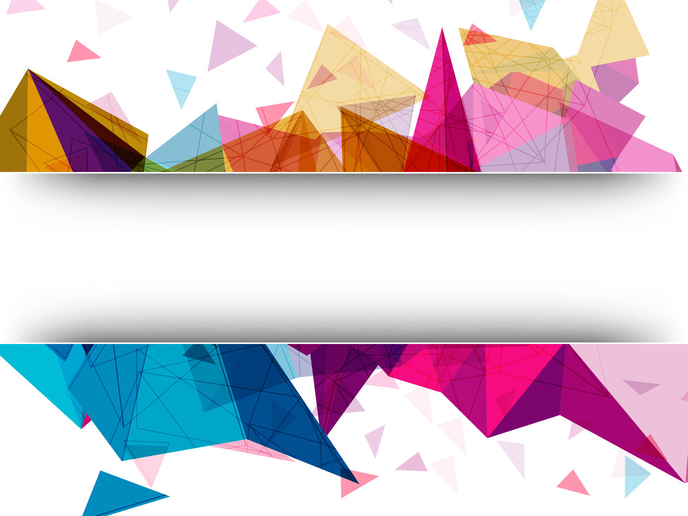 Colorful creative abstract design decorated background with space for your message.