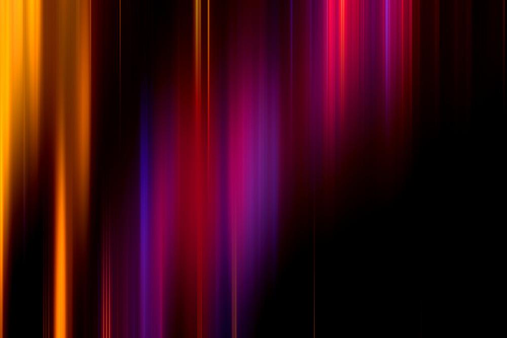 Colorful Dark Blur Lines