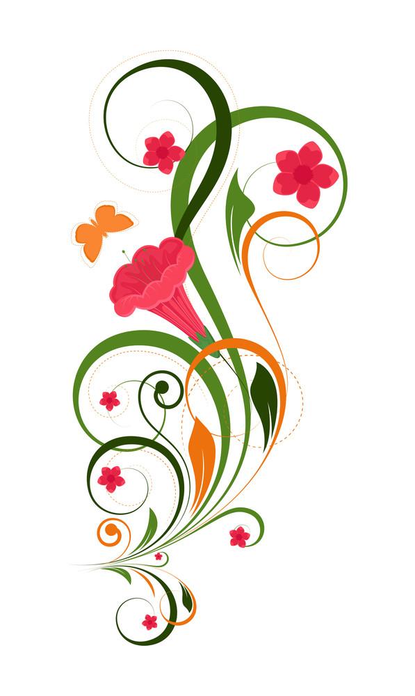 Colorful Decorative Floral