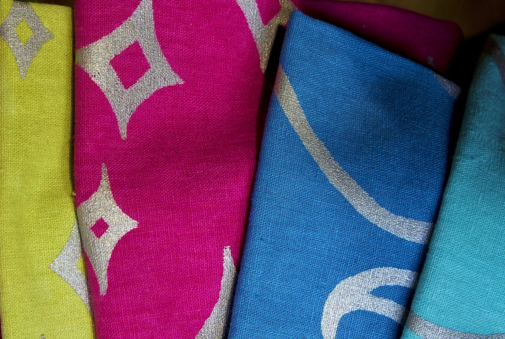 Colorful Fabric Texture Designs