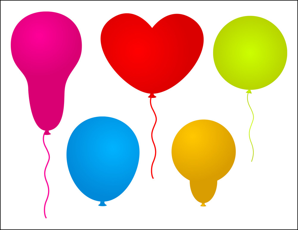 Colorful Festival Designs Balloons