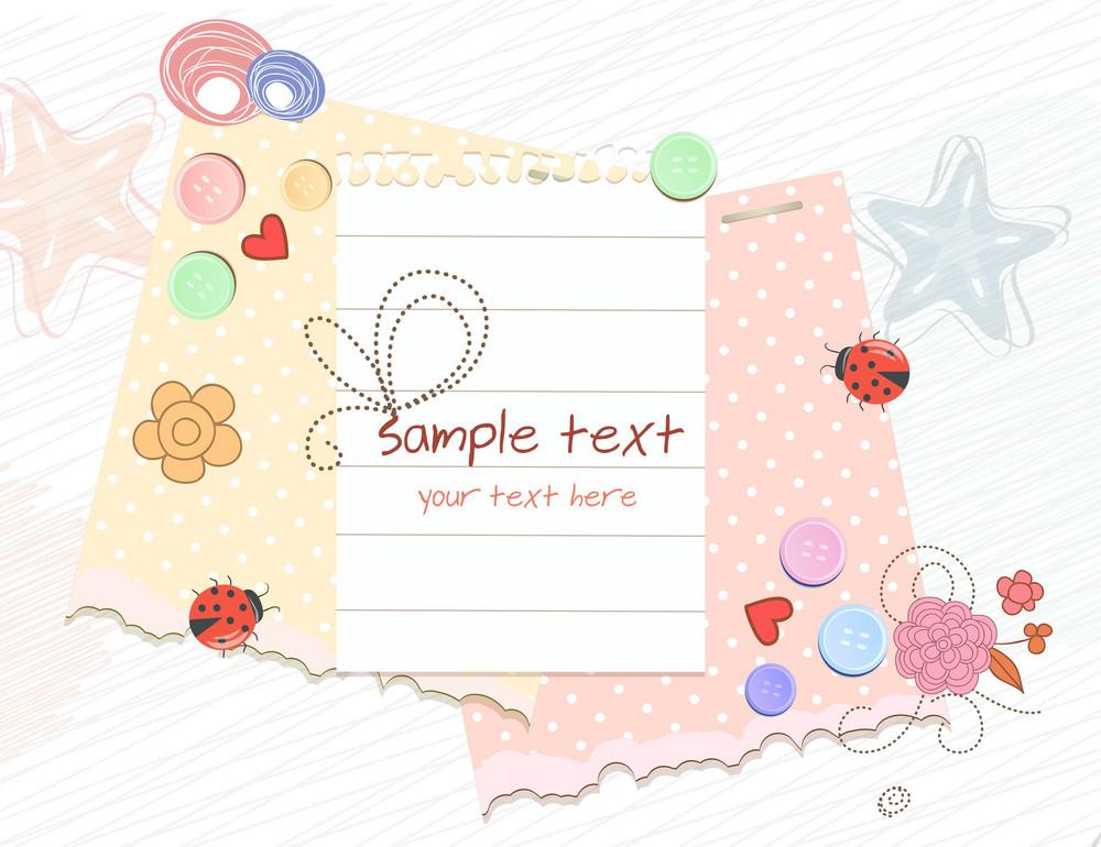 Colorful Frame Vector Illustration