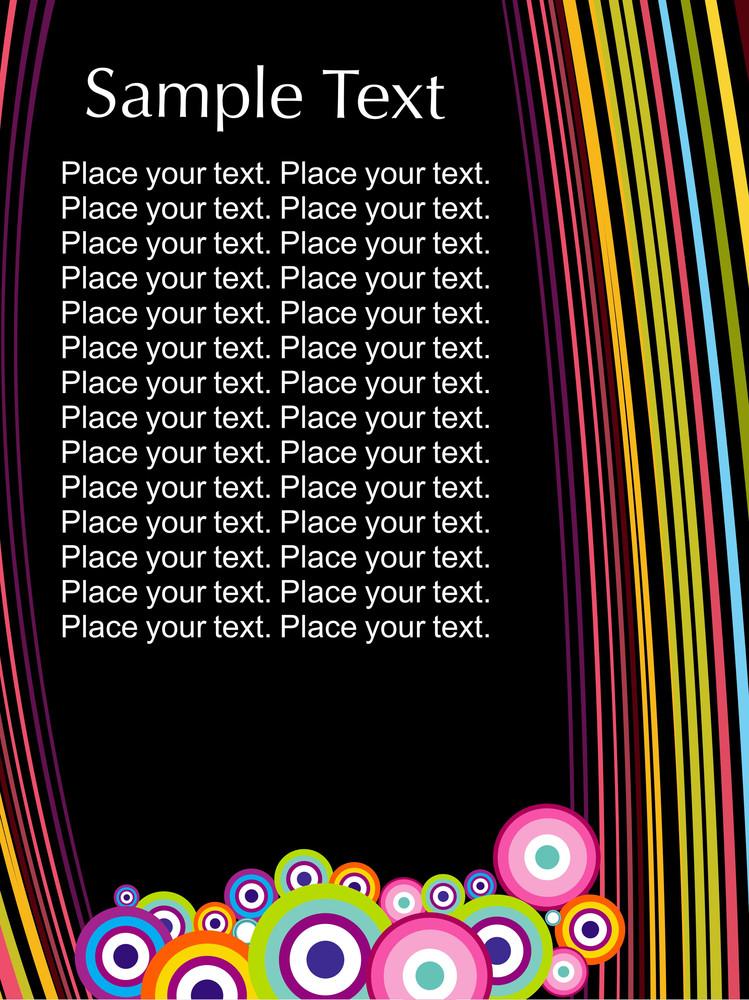 Colorful Funky Pattern Backround