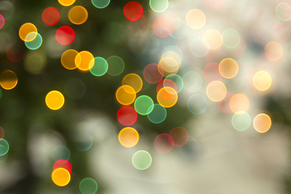 Colorful Lights Abstract Background