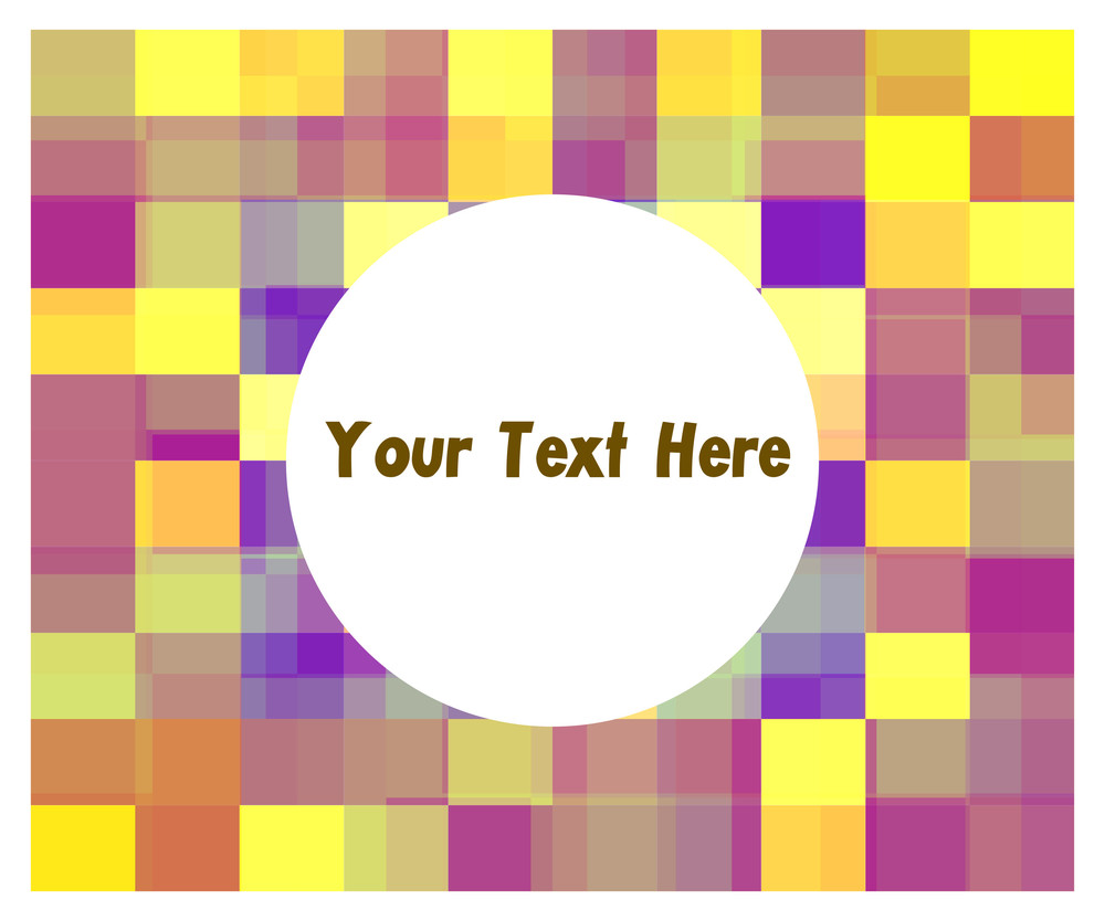 Colorful Mosaic Business Banner