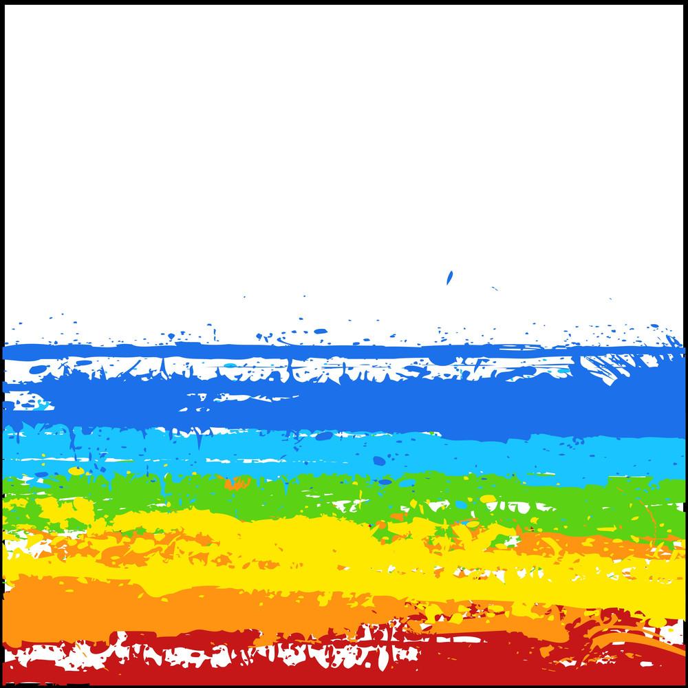 Colorful Rainbow Splash Banner