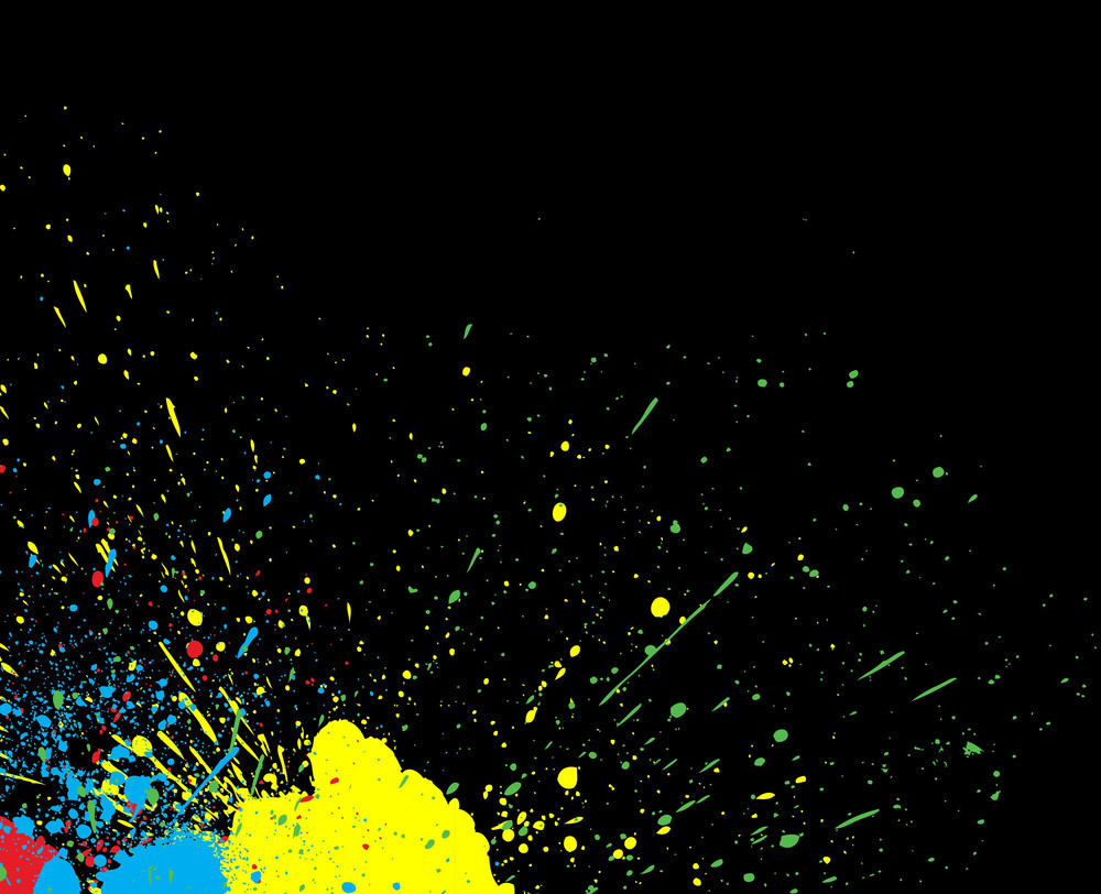 Colorful Scatter Background