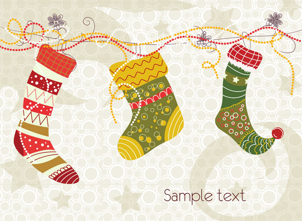 Colorful Socks Vector Illustration