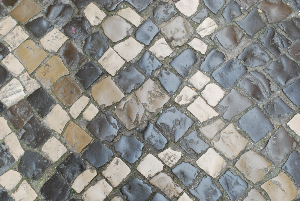 """Colorful Stones Pavement Also Know As """"calÁada"""""""