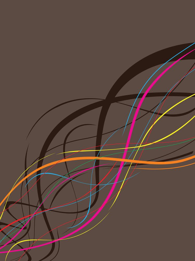 Colorful Stripes Illustration