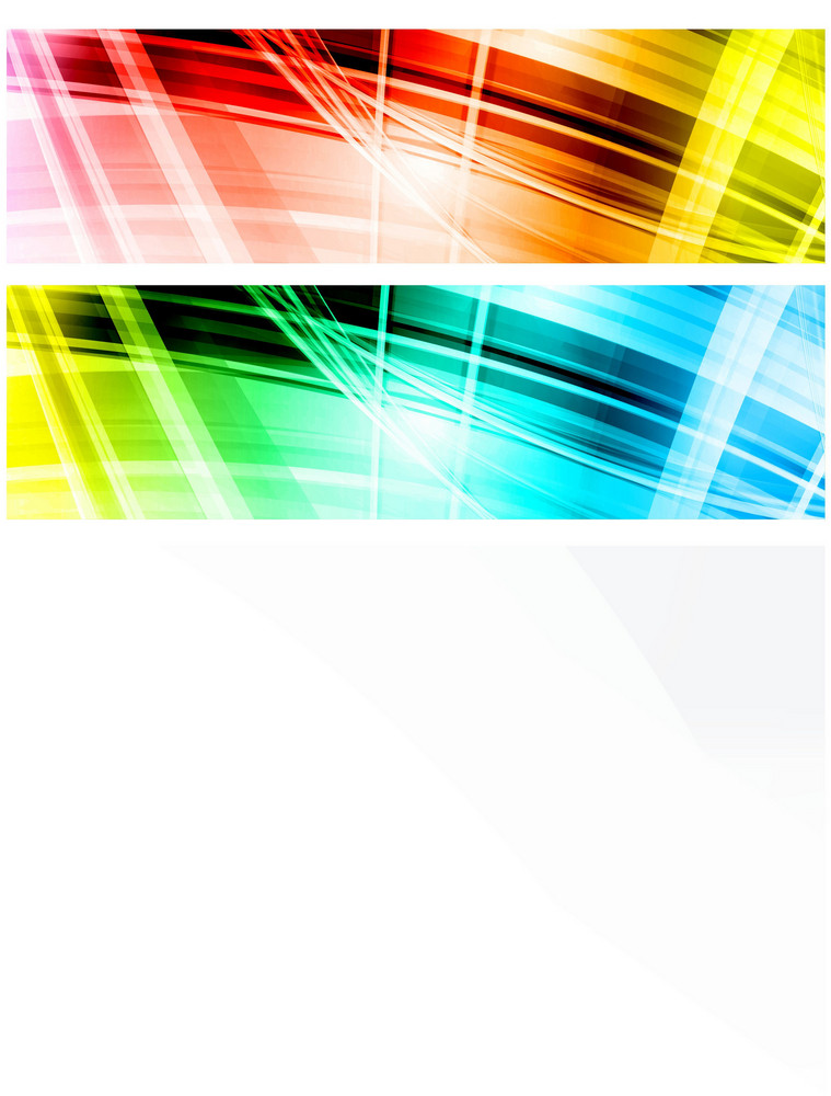 Colorful Vector Banners