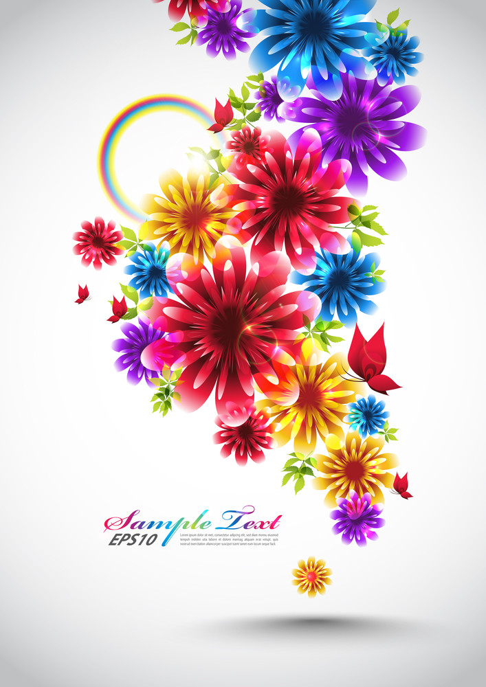 Colorful Vector Spring Element