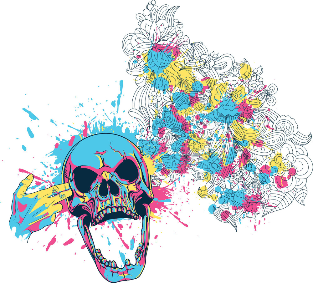 Colorful Vector T-shirt Design