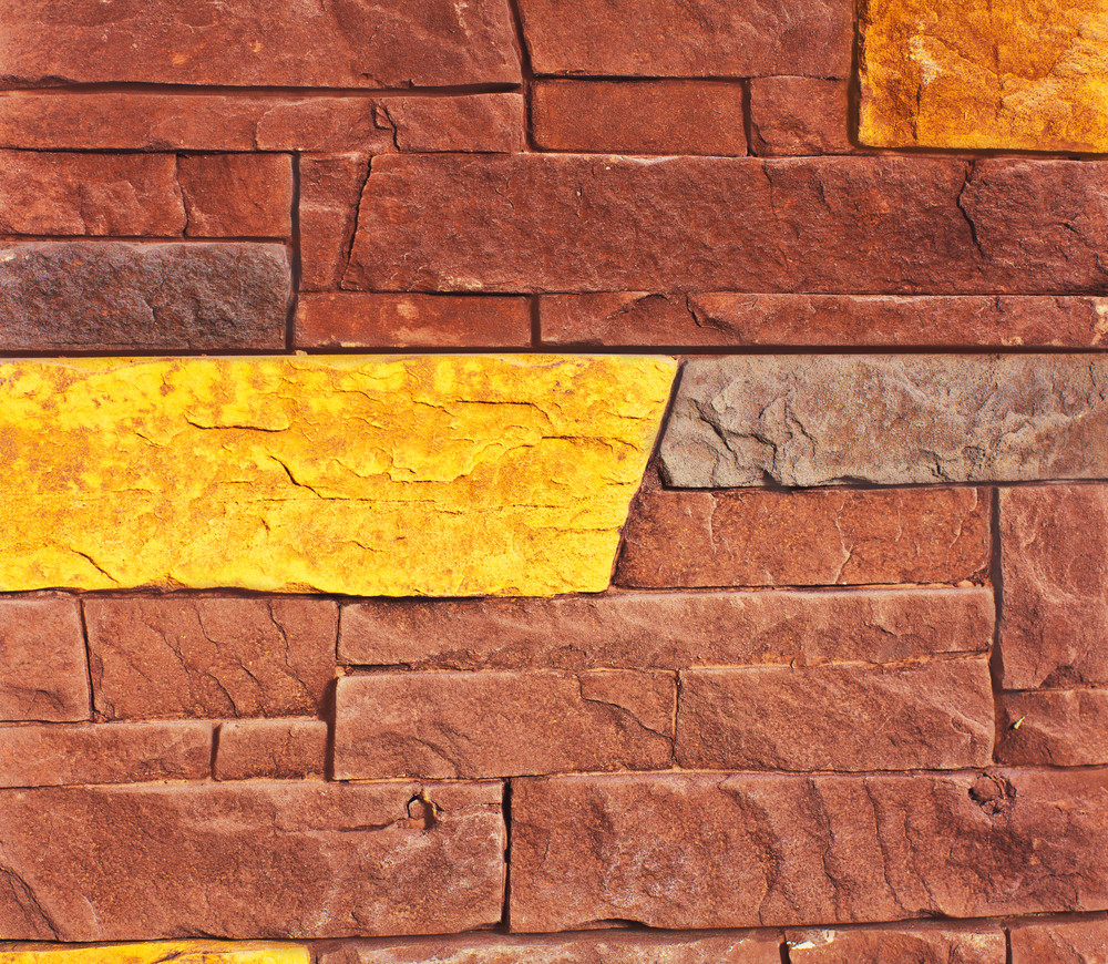 Colorful wall tiles background