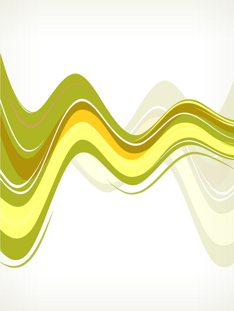 Colorful Waves Vector Illustration