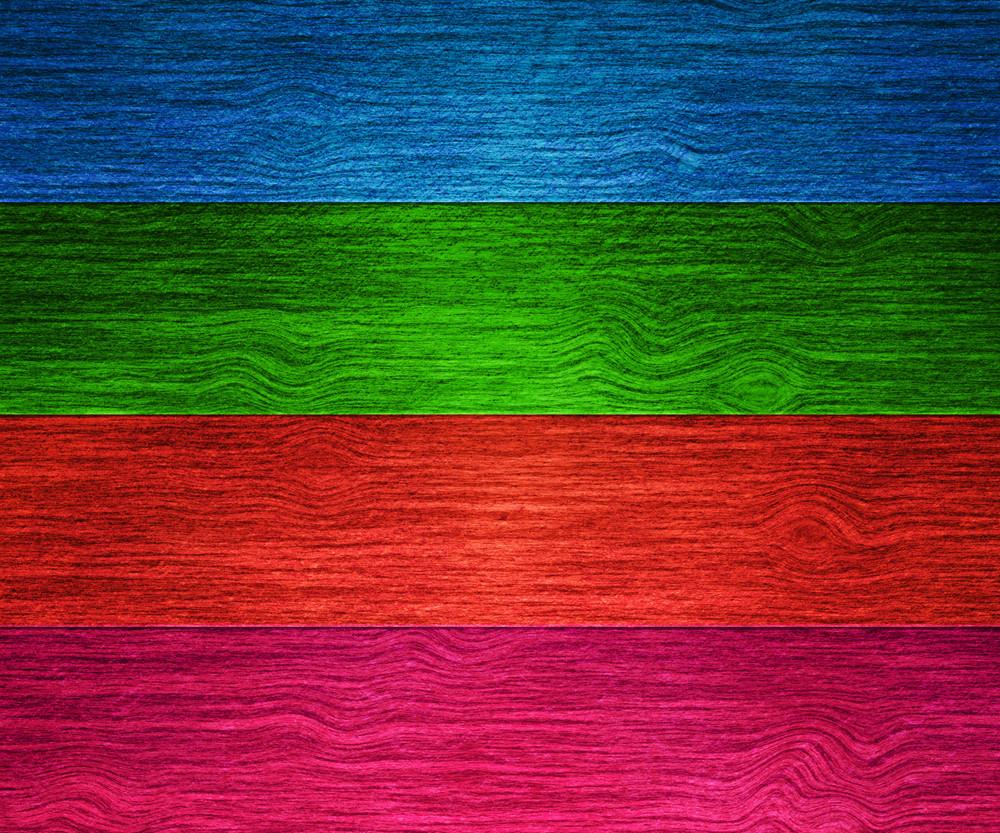 Colour Wooden Texture
